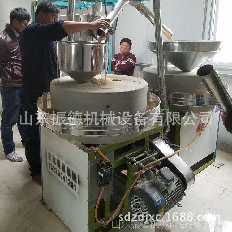 多款全自动石磨面粉 热销全自动米面机械 振德牌 家用电动石磨