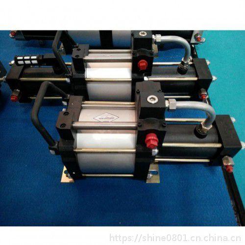 高压氮气增压机设备 用于蓄能器氮气弹簧压力充装