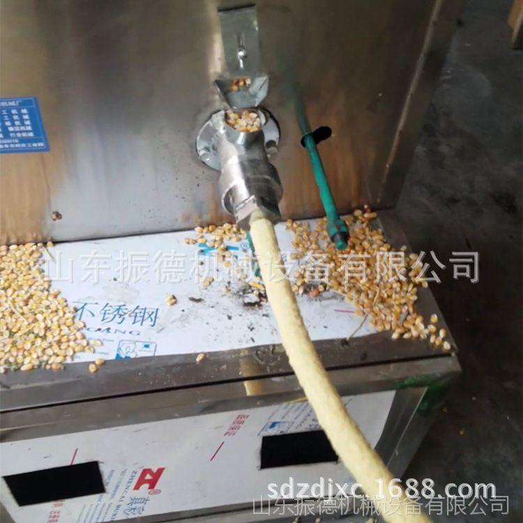 振德热销 杂粮麻花膨化机 玉米颗粒膨化机 江米棍机