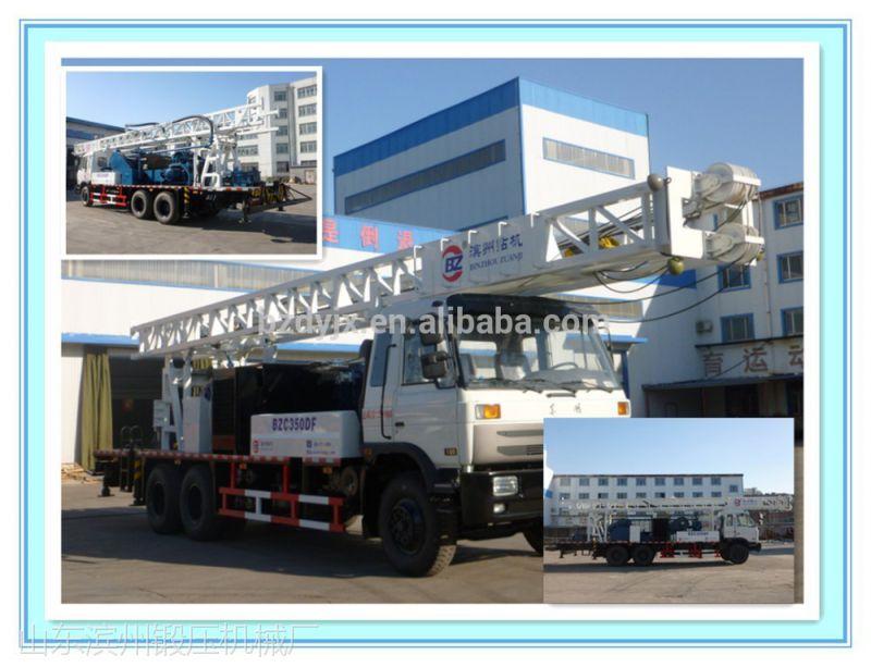 BZC300DDF6x4III车装水井工程钻机