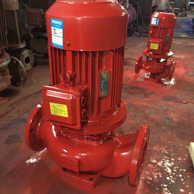上海凯泉东方喷淋泵消防泵型号XBD9.5/15-HL立式消防给水泵