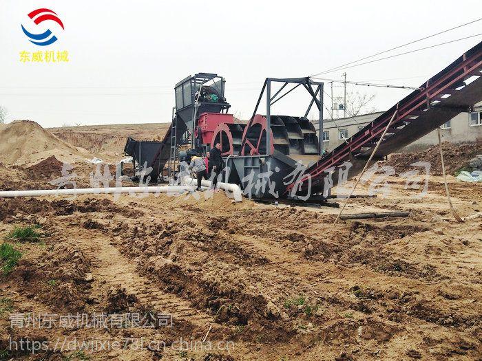 鹤壁山沙破碎洗沙机厂家-青州东威