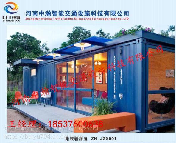 集装箱活动房,彩钢活动房,双层样板房