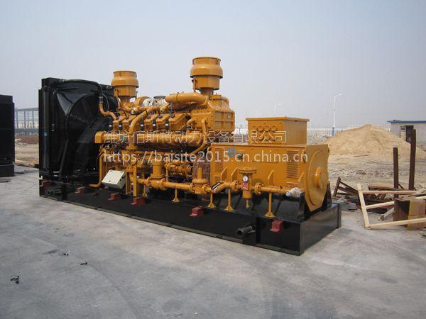 济柴1000KW千瓦柴油发电机组 路桥工程建设备用发电机 环保耐用