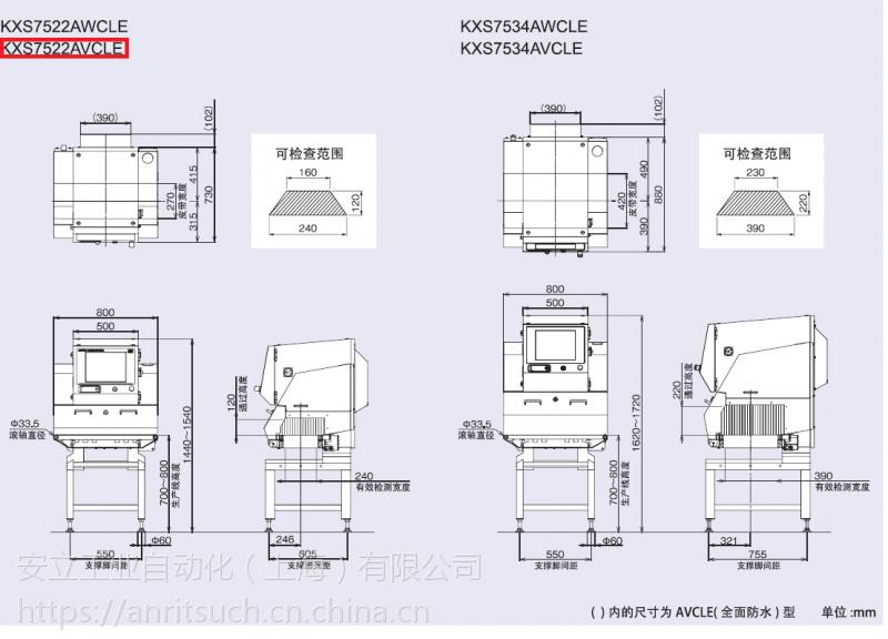 供应日本安立X光机KXS7522AVCLE