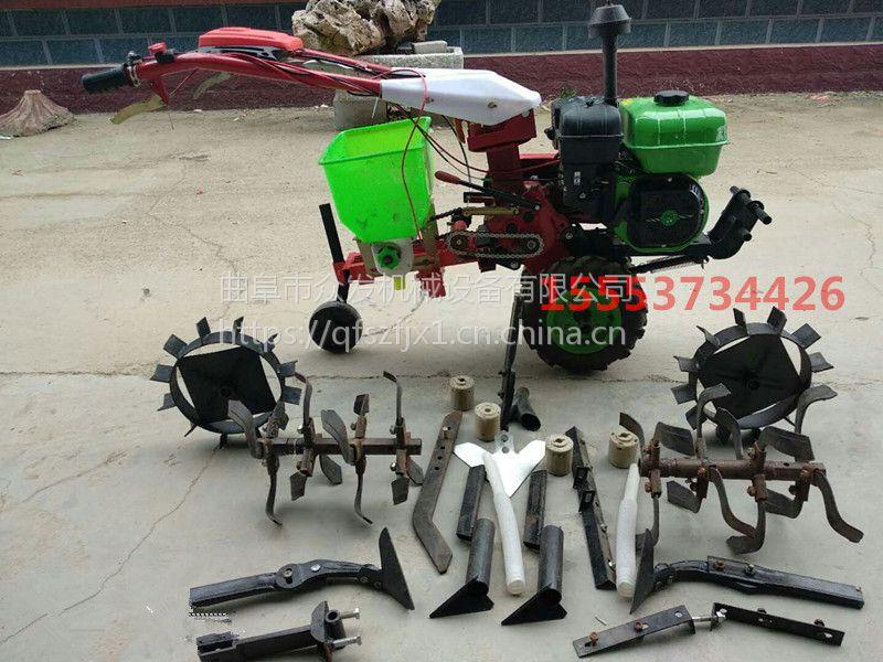 多功能小型汽油旋耕机 翻土机 手推农用园林耕地机