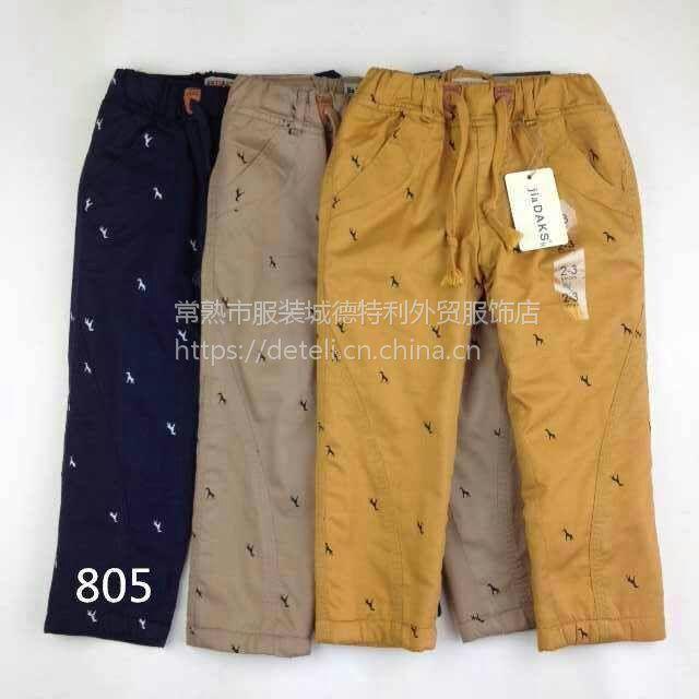 江苏男童长裤,长裤纯棉100%、儿童裤子批发、