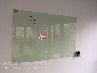 东莞挂式单面白板S河源磁性玻璃白板F可订制图表印制