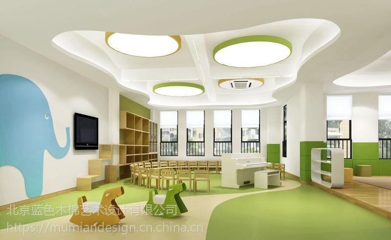 幼儿园、早教中心、亲子园怎么装修找蓝色木棉艺术设计