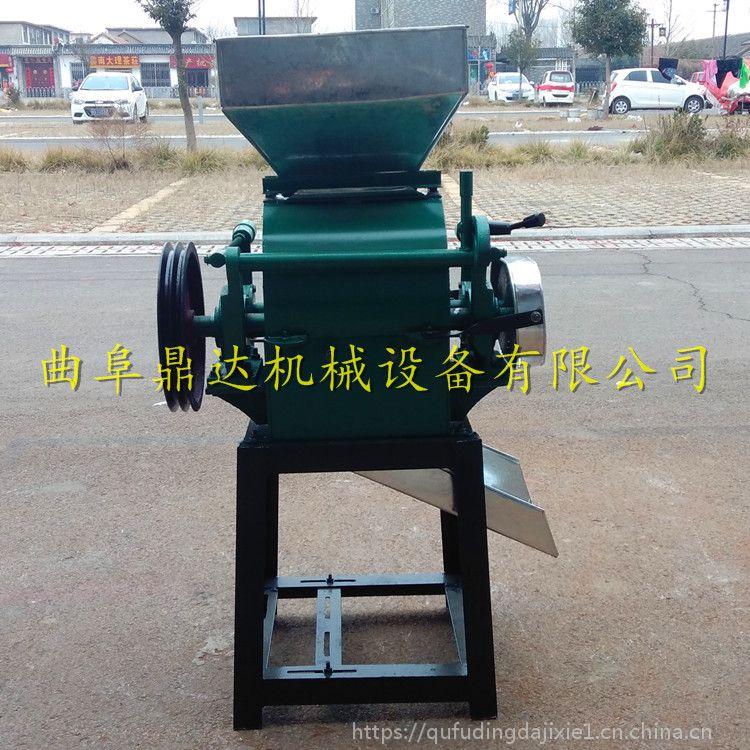 小型粮食加工机械 多功能燕麦花生破碎机 鼎达供应
