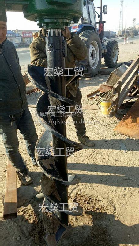 便携式汽油植树挖坑机 栽电线杆钻孔机厂家