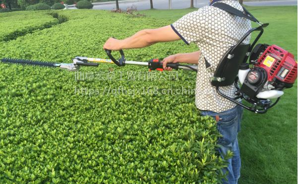 宏燊割草机四冲程背负式汽油割灌机除草机
