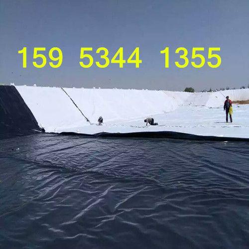 山东人工湖复合土工膜铺设、裁膜及运装
