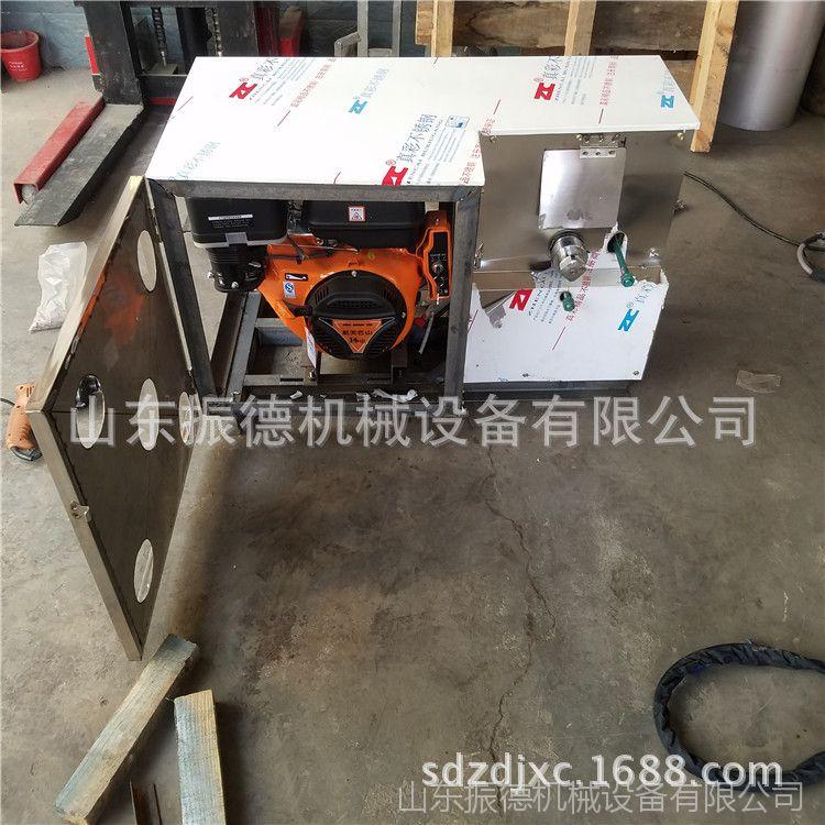 新型四缸汽油膨化机 空心管膨化机组合技术  振德七用大米膨化机