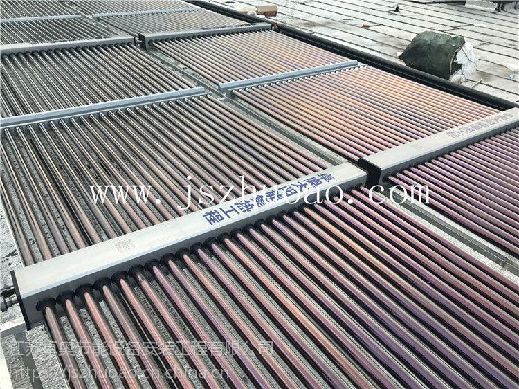 常州湖塘爱町堡温泉足浴会所30吨奥栋太阳能热水工程工程