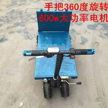 蔬菜电动手推车折叠升降电瓶车小型电动运输车运菜车直销