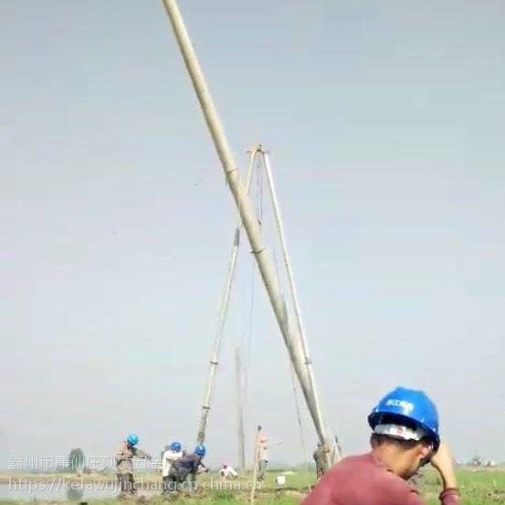 四川立杆机三角拔杆销售 自贡 乐山 水泥杆立杆机 手摇铝合金三角架 【刻发】