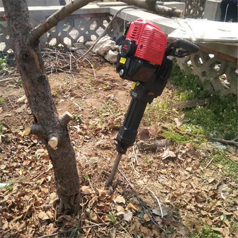 挖树机多少钱 铲头挖树机视频 富民牌