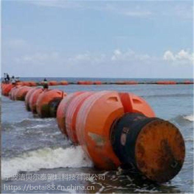 介绍河道疏浚浮筒管道浮体的应用优势