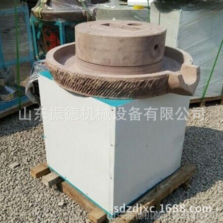 低速研磨面粉石磨 家用石磨面粉机 玉米小麦面粉石磨 振德供应