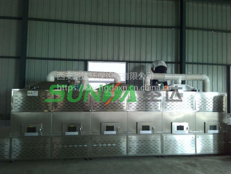 湖北隧道式黄豆烘干设备烘烤均匀速度快