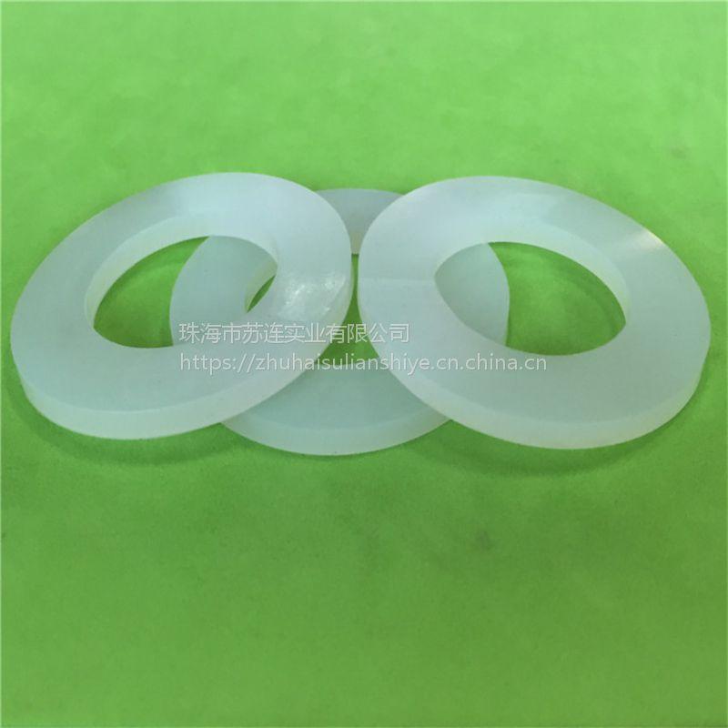 宽口径防漏垫圈 硅胶储奶瓶母乳保鲜密封垫片 耐高温硅胶垫片