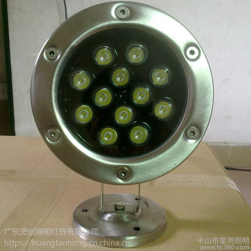 河北石家庄外控LED水底灯厂家 工程品质 双重防水质量有保障-灵创照明