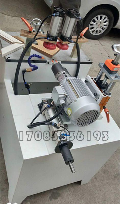 45度钻孔机 相框斜孔机 锐洋机械