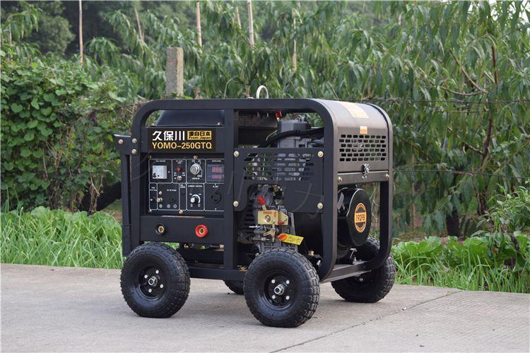 250A汽油发电电焊机技术参数