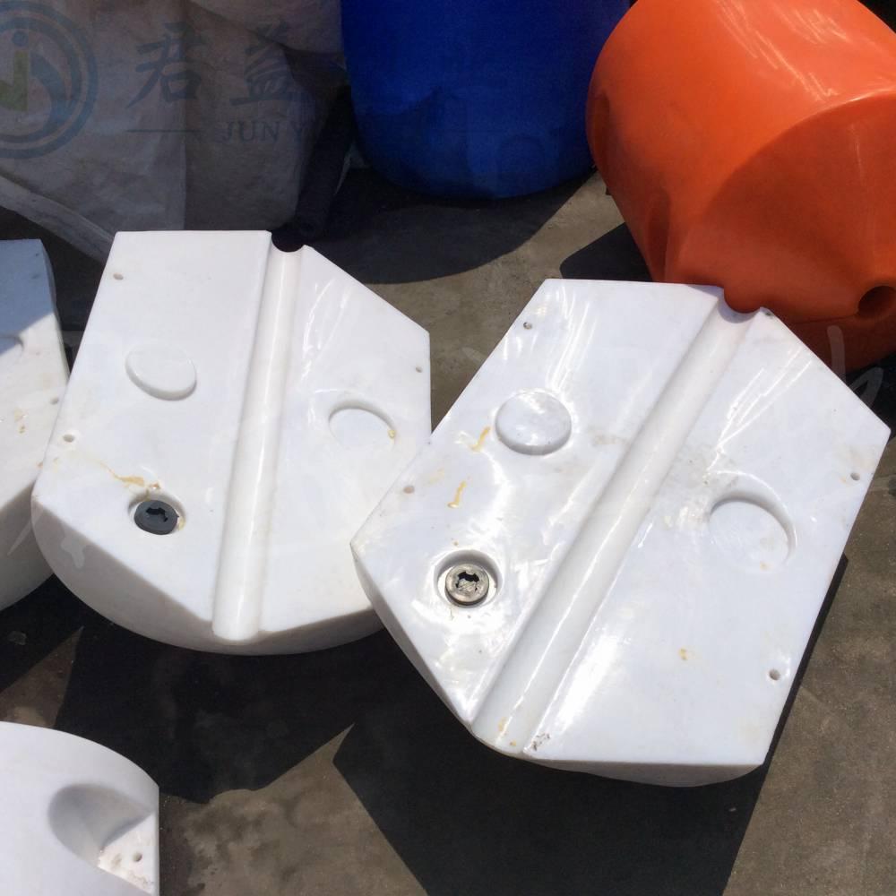 连云港塑料浮筒批发 直径500*750水上浮筒