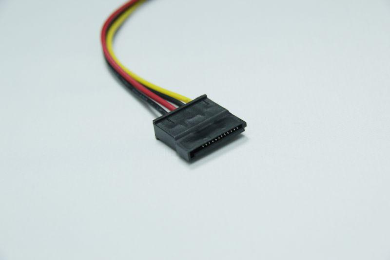 厂家供应批发 电脑电源线连接线 sata接口 串口 硬盘电源线图片