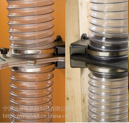 PU钢丝伸缩管,PU塑筋软管