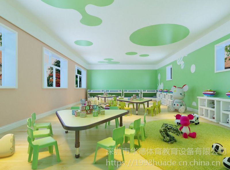 幼儿园设计品牌,深圳幼儿园装修公司,华德装饰价格实惠