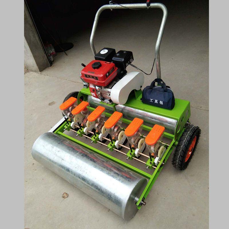 多功能汽油精播机 蔬菜种子播种机 10行油菜播种机质保机械