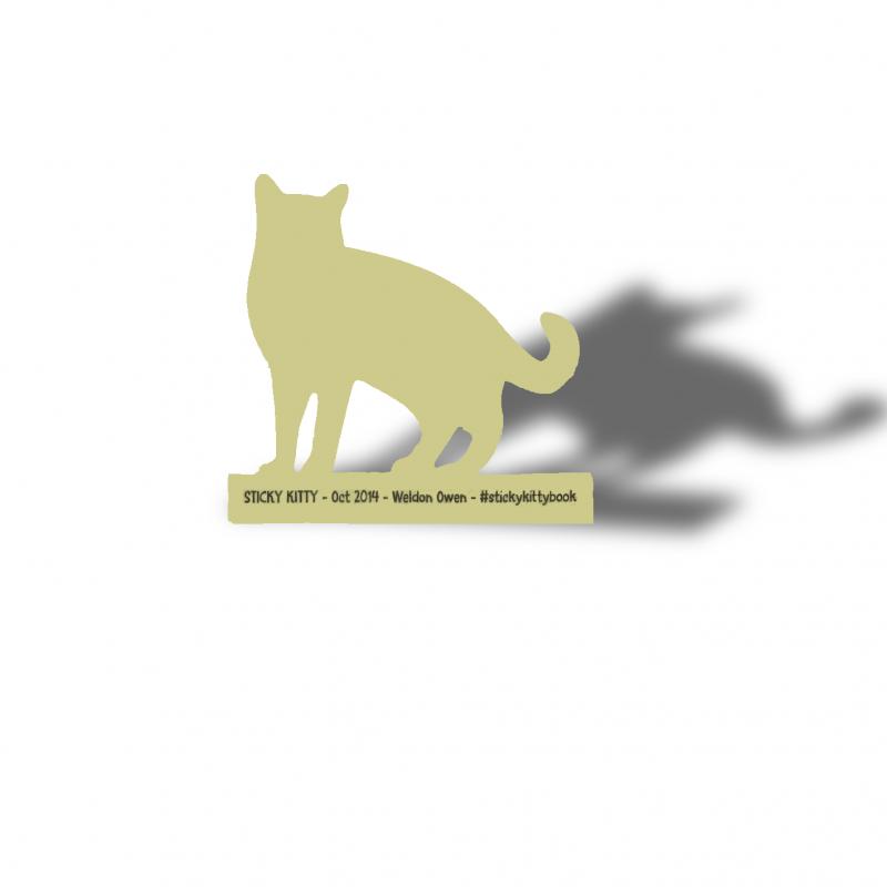 定制动物形状创意异形便签-博艺印刷品
