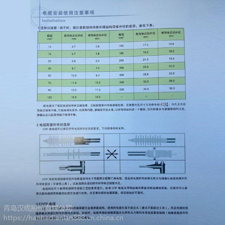 青岛汉河电缆电气电线厂家直销