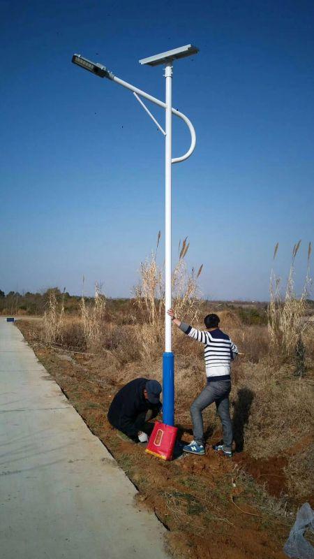 昆明6米led路灯太阳能路灯哪里买厂家直销图片