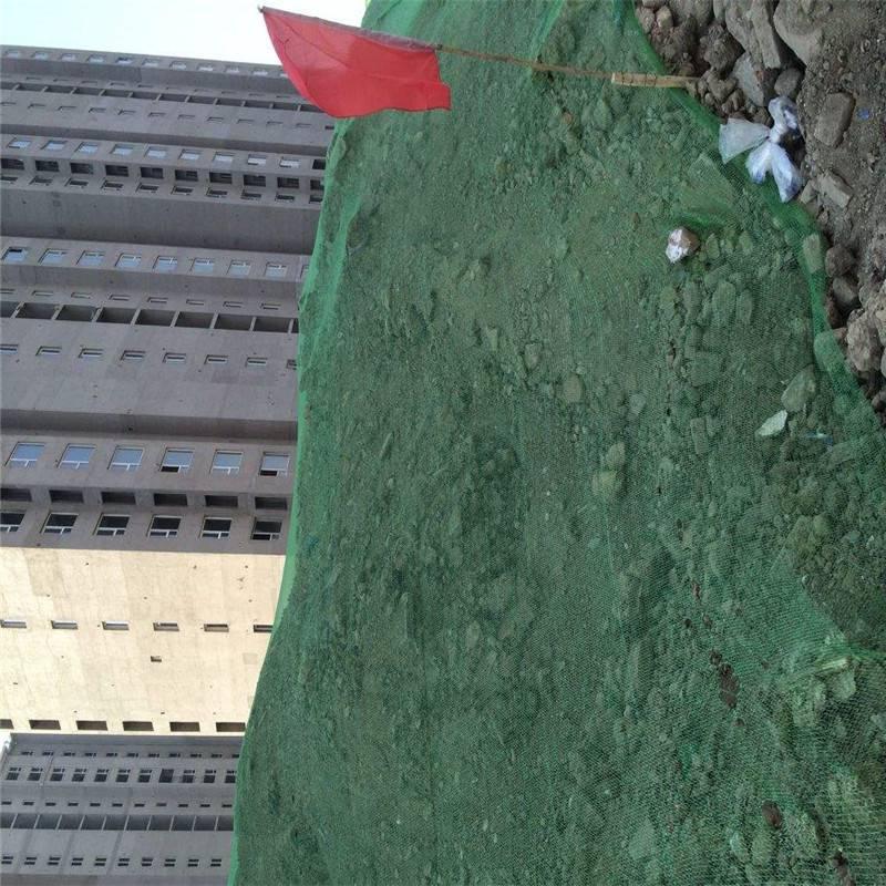 绿色扬尘网 盖土网厂家 盖土防尘网