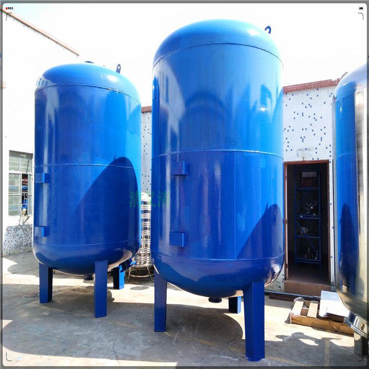 平顶山市生产大型污水处理过滤罐舞钢市Q235碳钢过滤机械罐山泉水预处理机械罐清又清直销