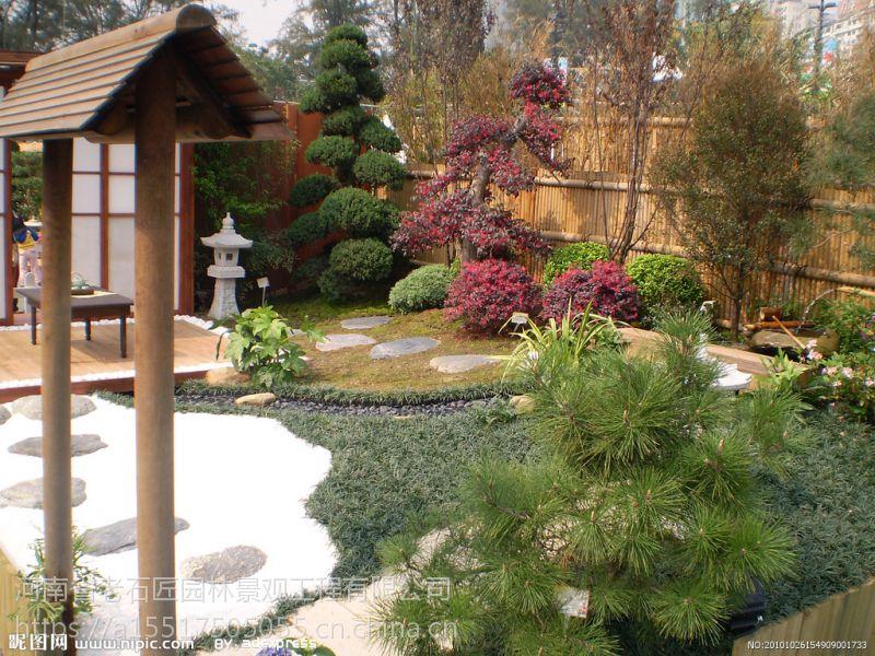 河南省老石匠日式风格,日式园林建筑,假山设计,景观制作,景观工程承包,小区绿化施工