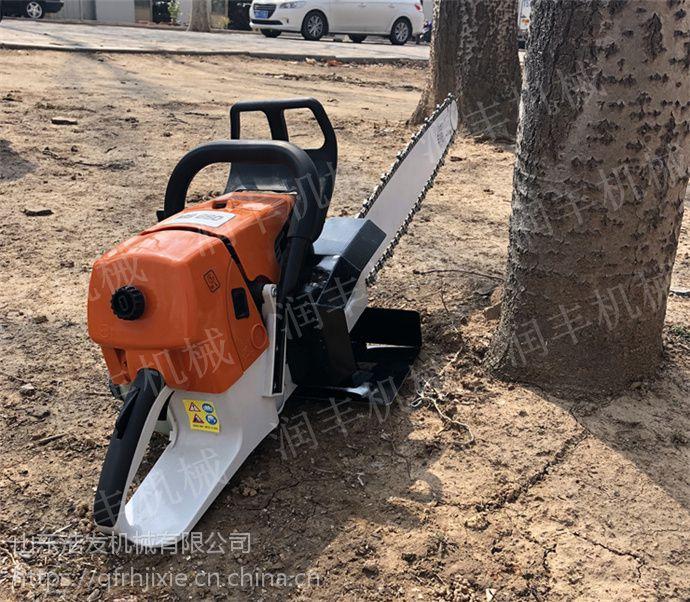 法桐移栽挖树机 两冲程混合油起树机