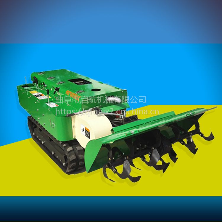 自走式海南香蕉园犁地除草机 启航小型自走式开沟机 开沟培土机