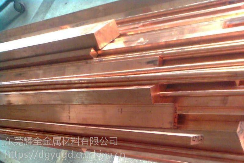 日本C1020导电无氧铜板 易焊接铜板 高纯度