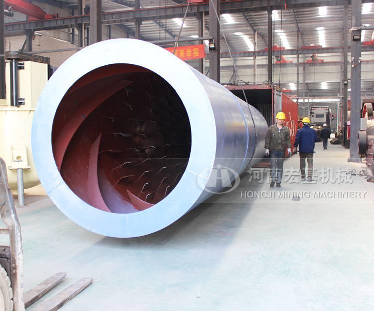 2.2米新型煤泥烘干机价格及参数,山西朔州购买时产20吨