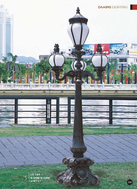 三火内庭院路灯_广东势浮20瓦庭院灯价格生产 - 云浮太阳能路灯