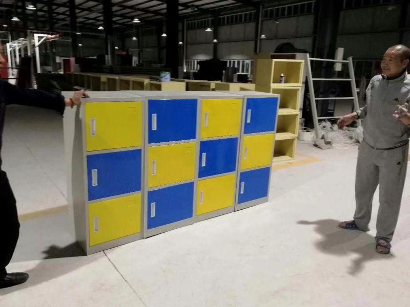 钢制衣柜 更衣柜 学生铁皮储物柜 现代 重庆钢制家具厂家直销