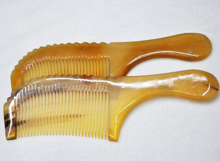 神牛角品牌批发销售18厘米精品绵羊角梳