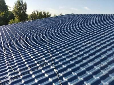 四川达州新农村asa合成树脂瓦 仿古屋檐瓦 屋面装饰建材