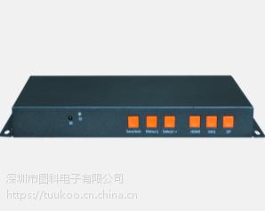 图科TK-UD22 4k画面拼接器,4K4路多画面拼接盒,液晶拼接屏处理器.4k液晶屏拼