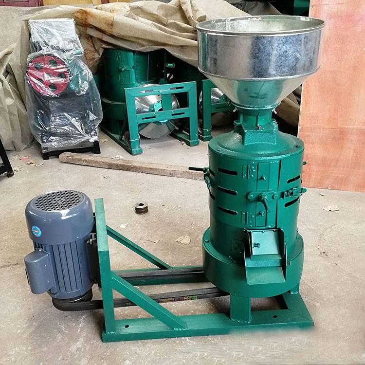 立式稻谷脱皮碾米机 稻谷壳分离机 砂轮式碾米机